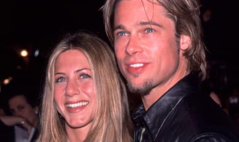 ジェニファー・アニストンとブラッド・ピット(2000年)
