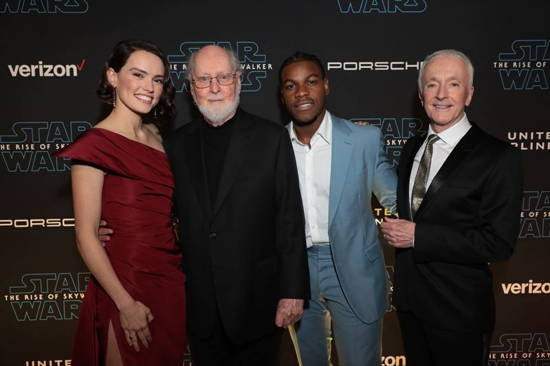 the World Premiere of Star Wars: The Rise of Skywalker, the highly anticipated conclusion of the Skywalker saga, in Hollywood, CA, on December 16, 2019.