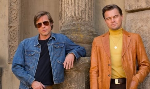 Brad Pitt and Leonardo DiCaprio star in Columbia Pictures メOnce Upon a Time in Hollywood""
