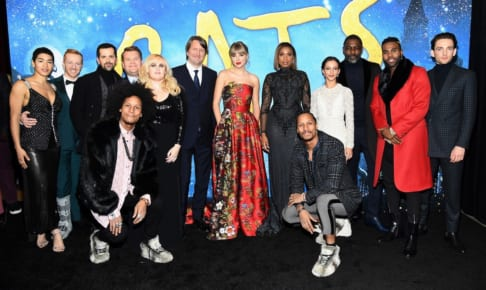 NEW YORK, NEW YORK - DECEMBER 16: The cast of 'Cats' attends The World Premiere of Cats, presented by Universal Pictures on December 16, 2019 in New York City. (Photo by Kevin Mazur/Getty Images for Universal Pictures)