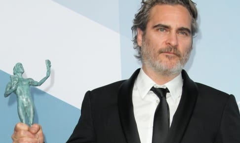 26th Annual SAG Awards Press Room 2019 held at Shrine Auditorium in Los Angeles California. Featuring: Joaquin Phoenix Where: Los Angeles, California, United States When: 19 Jan 2020 Credit: Adriana M. Barraza/WENN