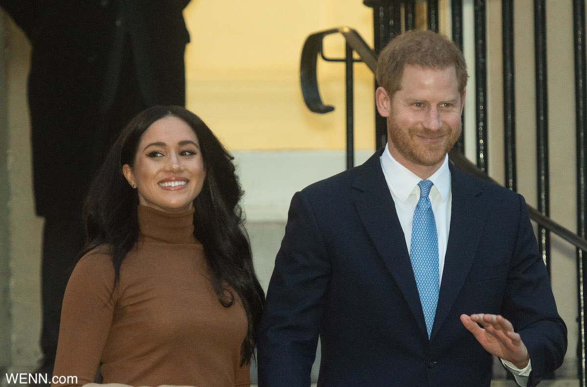 HRH The Duke and Duchess of Sussex depart after visiting The Canadian High Commissioner to the UK, Janice Charette at the Canadian High Commission at Canada House, London, England, UK on Tuesday 7 January, 2020. Picture by Justin Ng/UPPA/Avalon Featuring: Prince Harry, Meghan Markle Where: London, England, United Kingdom When: 07 Jan 2020 Credit: WENN/Avalon **WENN/Avalon**