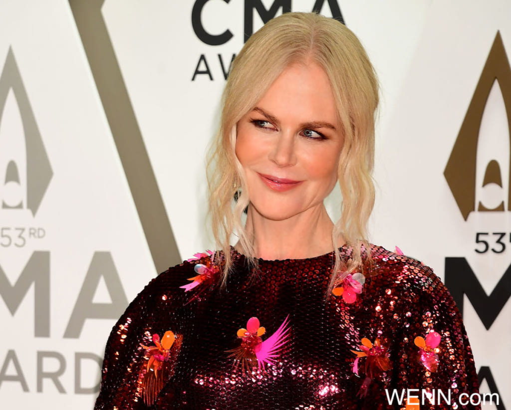 -PICTURED: Nicole Kidman -PHOTO by: Laura Farr/AdMedia/Media Punch/INSTARimages.com This is an editorial, rights-managed image. Please contact Instar Images LLC for licensing fee and rights information at sales@instarimages.com or call +1 212 414 0207 This image may not be published in any way that is, or might be deemed to be, defamatory, libelous, pornographic, or obscene. Please consult our sales department for any clarification needed prior to publication and use. Instar Images LLC reserves the right to pursue unauthorized users of this material. If you are in violation of our intellectual property rights or copyright you may be liable for damages, loss of income, any profits you derive from the unauthorized use of this material and, where appropriate, the cost of collection and/or any statutory damages awarded Where: Nashville, Tennessee, United States When: 14 Nov 2035 Credit: WENN/Instar **WENN/Instar**