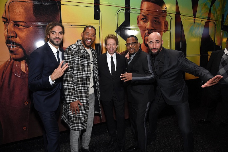 Hollywood, CA - January 14, 2020: Adil El Arbi, Director, Will Smith, Jerry Bruckheimer, Producer, Martin Lawrence and Bilall Fallah, Director, attend the Los Angeles Premiere of Columbia Pictures BAD BOYS FOR LIFE.