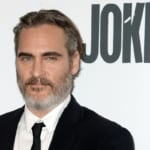 , New York, NY - 20191002 Celebrities pose for pictures as they arrive at the New York premiere of 'Joker' during the 57th New York Film Festival. -PICTURED: Joaquin Phoenix -PHOTO by: Kristin Callahan/ACE Pictures/INSTARimages.com -100119_Joker_K021 Disclaimer: This is an editorial, rights-managed image. Please contact INSTAR Images for licensing fee and rights information at sales@instarimages.com or call +1 212 414 0207. This image may not be published in any way that is, or might be deemed to be, defamatory, libelous, pornographic, or obscene. Please consult our sales department for any clarification needed prior to publication and use. INSTAR Images reserves the right to pursue unauthorized users of this material. If you are in violation of our intellectual property rights or copyright you may be liable for damages, loss of income, any profits you derive from the unauthorized use of this material and, where appropriate, the cost of collection and/or any statutory damages awarded For images containing underage children: Be advised that some Countries may have restricted privacy laws against publishing images of underage children. Inform yourself! Underage children may need to be removed or have their face pixelated before publishing Where: New York, New York, United States When: 02 Oct 2019 Credit: WENN/Instar **WENN/Instar**