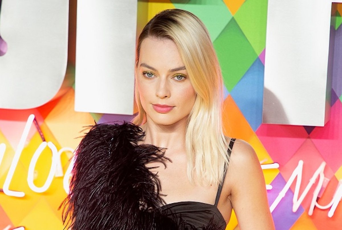 Margot Robbie attends Birds of Prey World Film Premiere at Odeon BFI IMAX Waterloo in London on 29 January 2020.