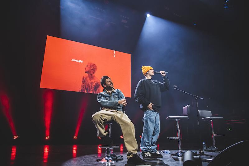 Justin Bieber, Indigo, London, 11 February 2020. Photo by: Carsten Windhorst