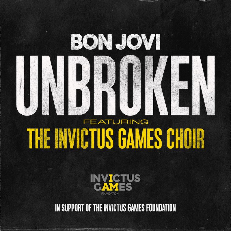 ボン・ジョヴィ「Unbroken feat. the Invictus Games Choir」