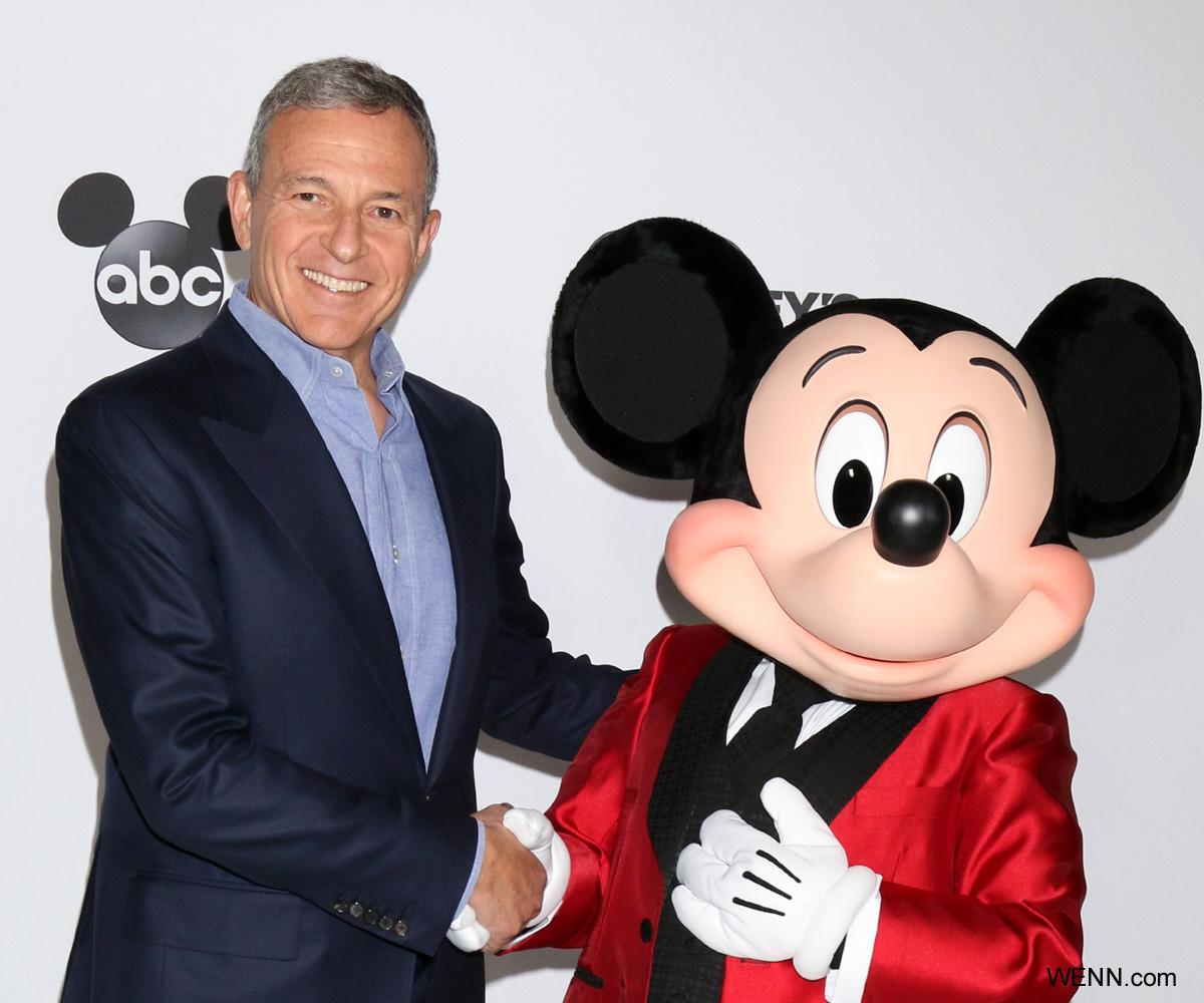 ボブ・アイガーとミッキーマウス