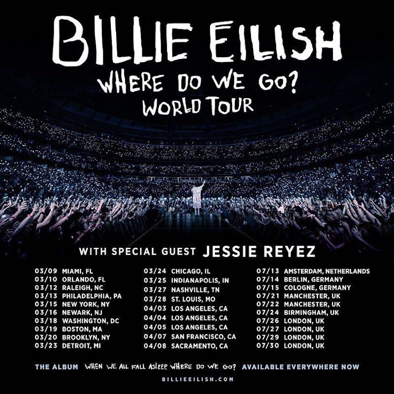 ビリー・アイリッシュ「WhereDoWeGo Tour」