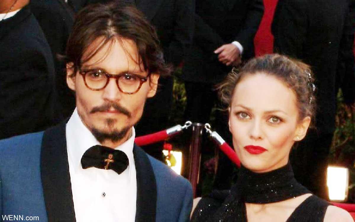 ジョニー・デップと、ヴァネッサ・パラディ(2005年)