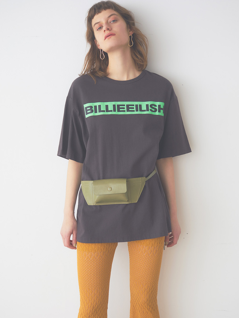 SNIDEL feat. BILLIE EILISH Tシャツ