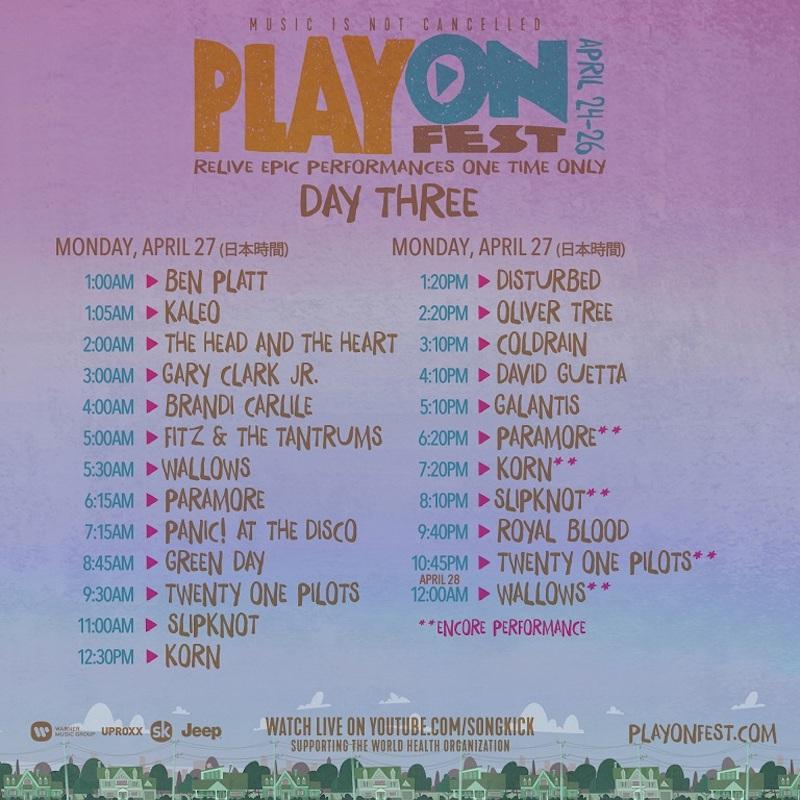 PlayOn SetTimes_DAY-THREE