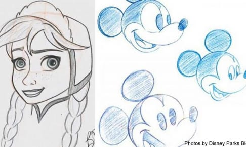 ディズニーのお絵描きレッスン