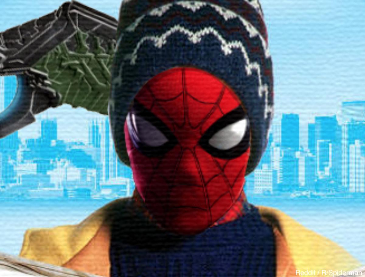 『スパイダーマン』のファンアート