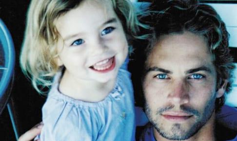 娘ミドゥとポール・ウォーカー