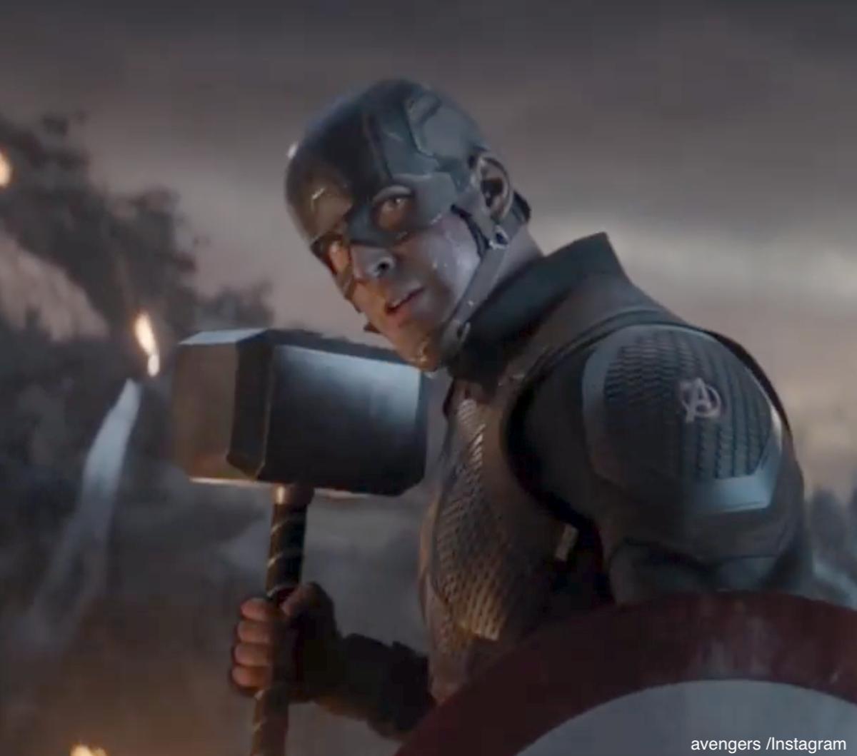 キャプテン・アメリカを演じるクリス・エヴァンス