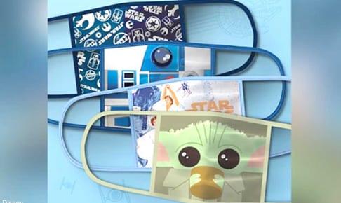ディズニーが発表したキュートな布製マスク