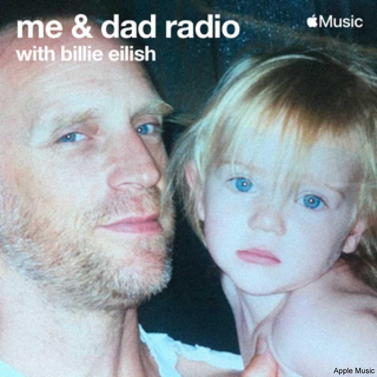 幼い時のビリー・アイリッシュと、父パトリック・オコネル