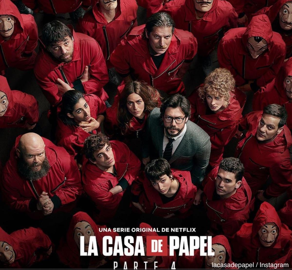 「ペーパー・ハウス(原題:La Casa De Papel)」