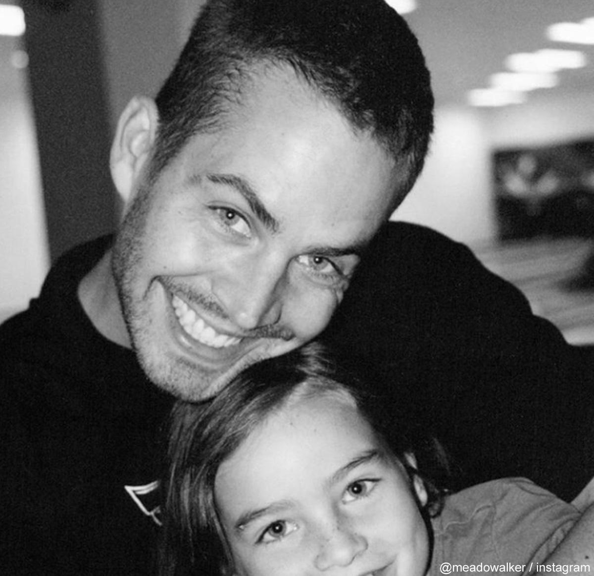 ポール・ウォーカーと娘ミドゥ