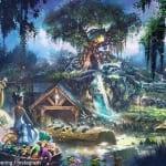 テーマを『プリンセスと魔法のキス』に変更したイメージ画像