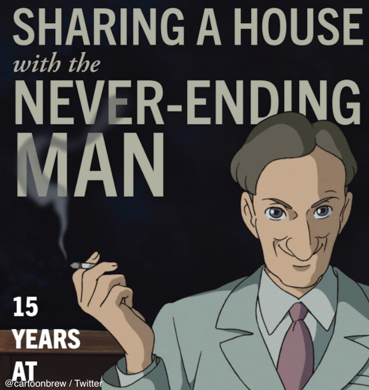 「Sharing a House with the Never-Ending Man: 15 Years at Studio Ghibli」