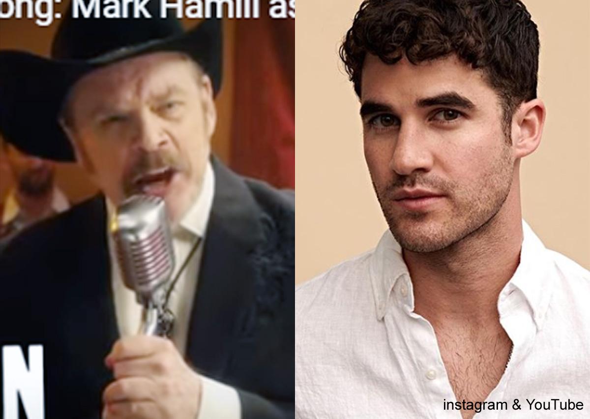 マーク・ハミル(左)、ダレン・クリス