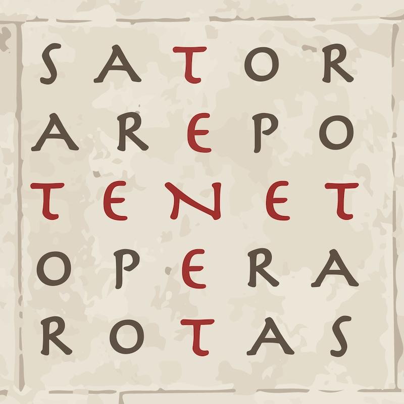 『TENET テネット』SATOR式
