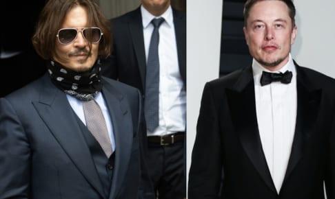ジョニー・デップとイーロン・マスク