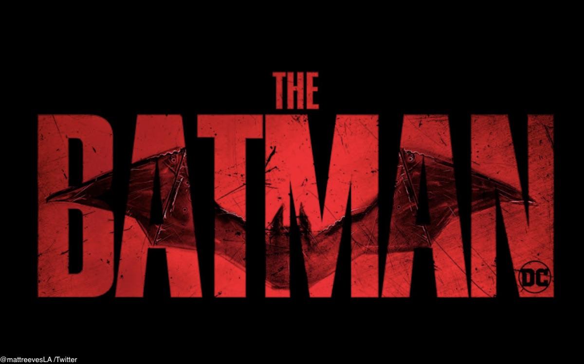 『The Batman(原題)』の新しいロゴ