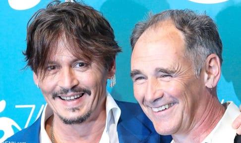 ジョニー・デップと、マーク・ライランス