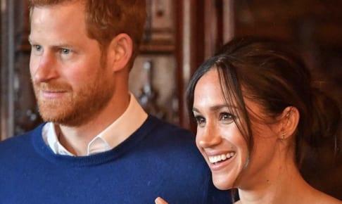 ヘンリー王子とメーガン妃(インスタグラムより)