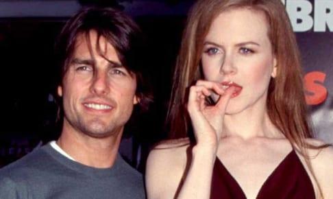 トム・クルーズとニコール・キッドマン(1999年)