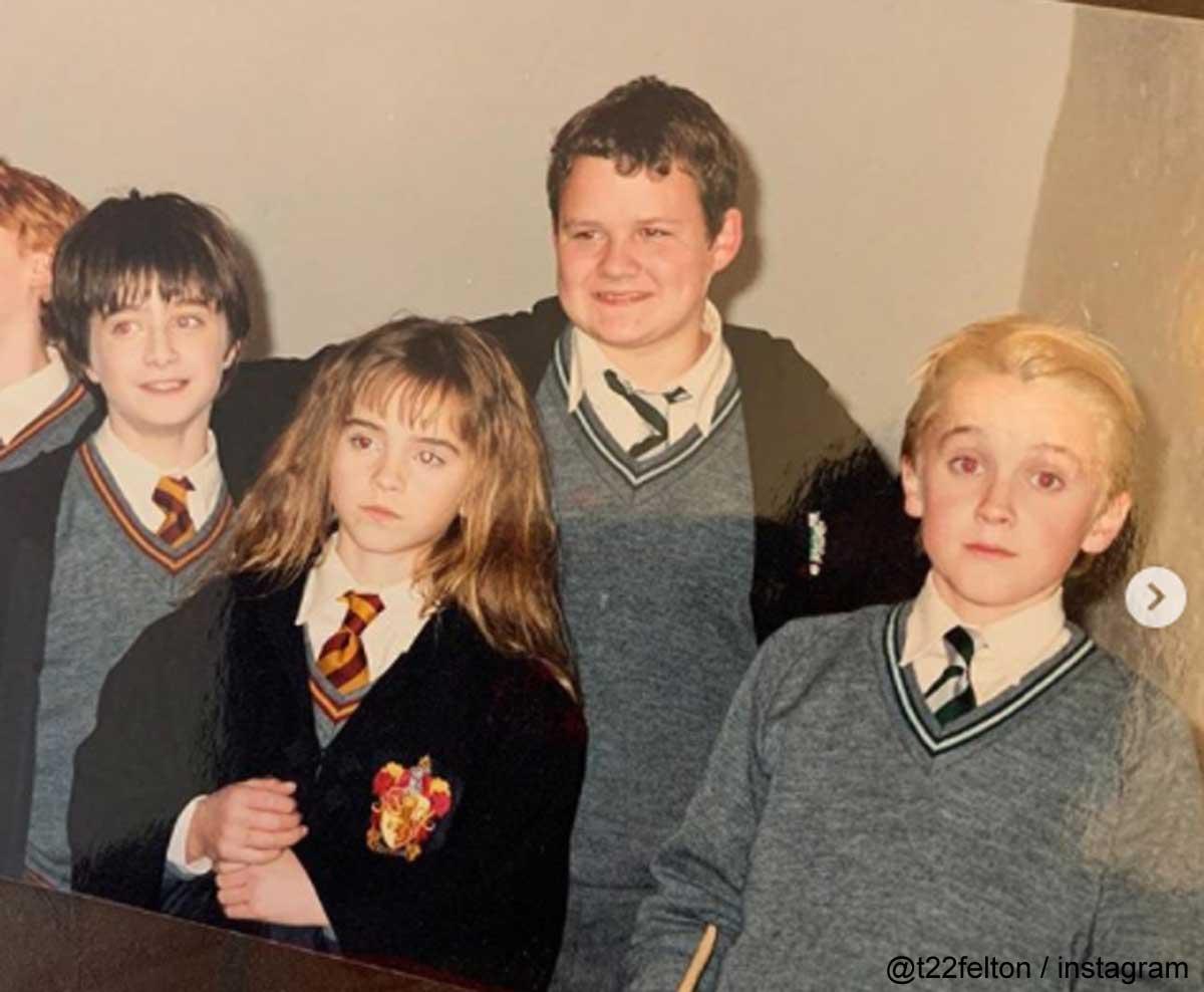 『ハリー・ポッター』撮影当時