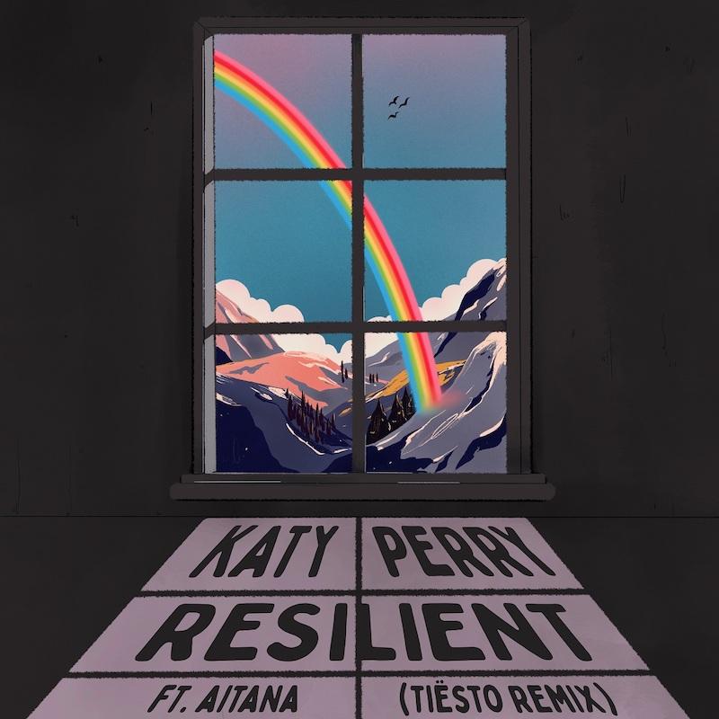 「Resilient (Tiesto Remix)」シングル・ジャケット