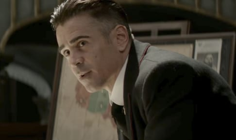 グレイブスを演じるコリン・ファレル