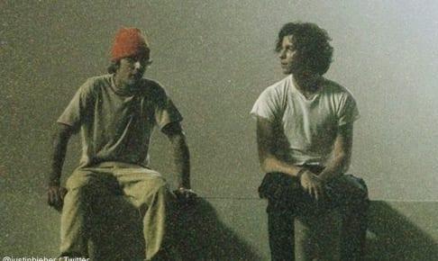 ジャスティン・ビーバーと、ショーン・メンデス