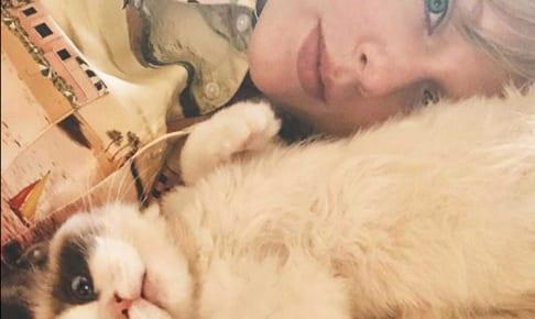 テイラー・スウィフトと愛猫ベンジャミン