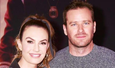 エリザベス・チェンバースとアーミー・ハマー(2020年1月)