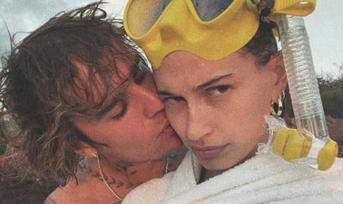 ジャスティン・ビーバーと妻ヘイリー
