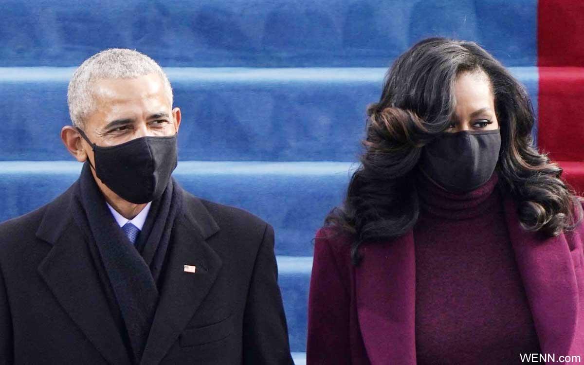バラク・オバマ元大統領と、ミシェル・オバマ夫人