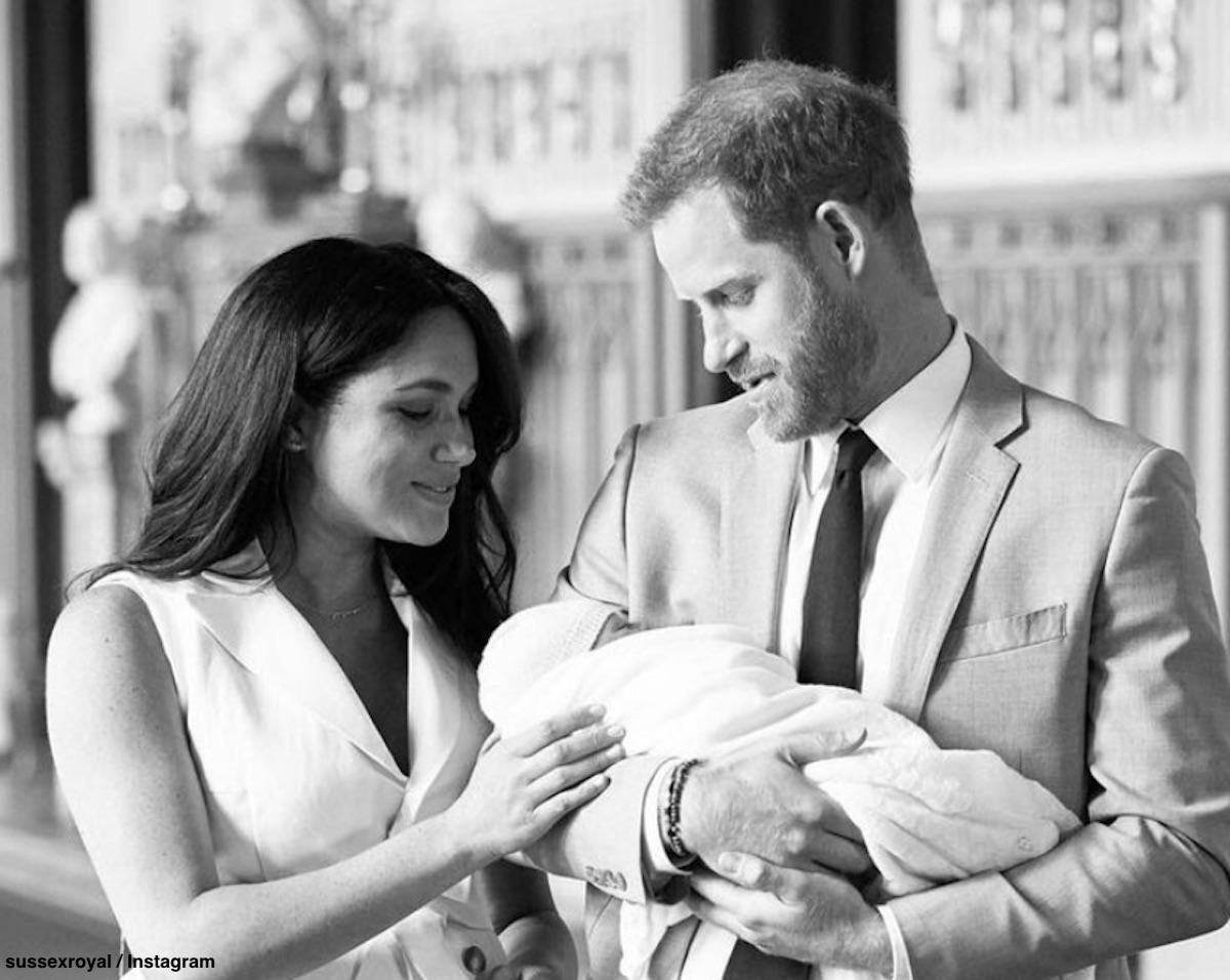 メーガン妃、ヘンリー王子、アーチーくん