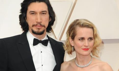 アダム・ドライバーと妻のジョアン・タッカー