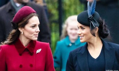 キャサリン妃と、メーガン妃