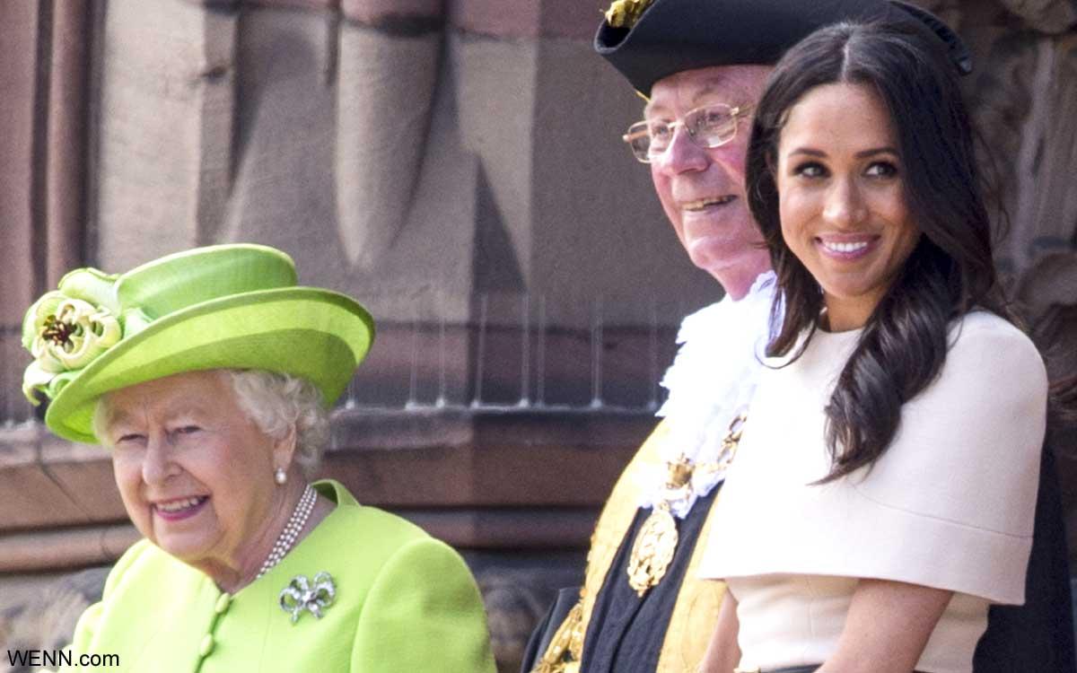 エリザベス女王と、メーガン妃