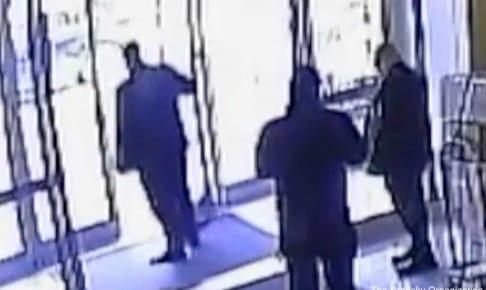 事件当時の映像