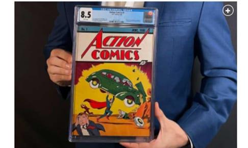 約3億5000万円で落札されたコミック