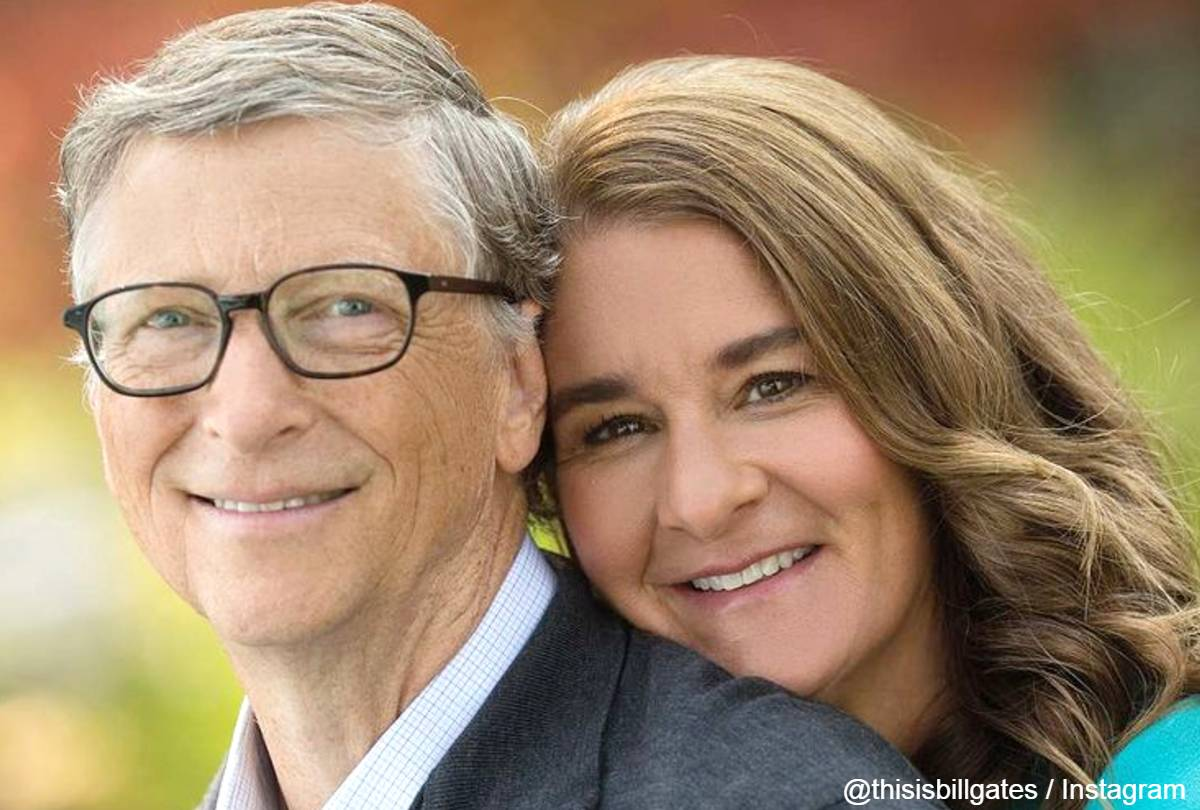 離婚を発表したビル・ゲイツとメリンダ・ゲイツ