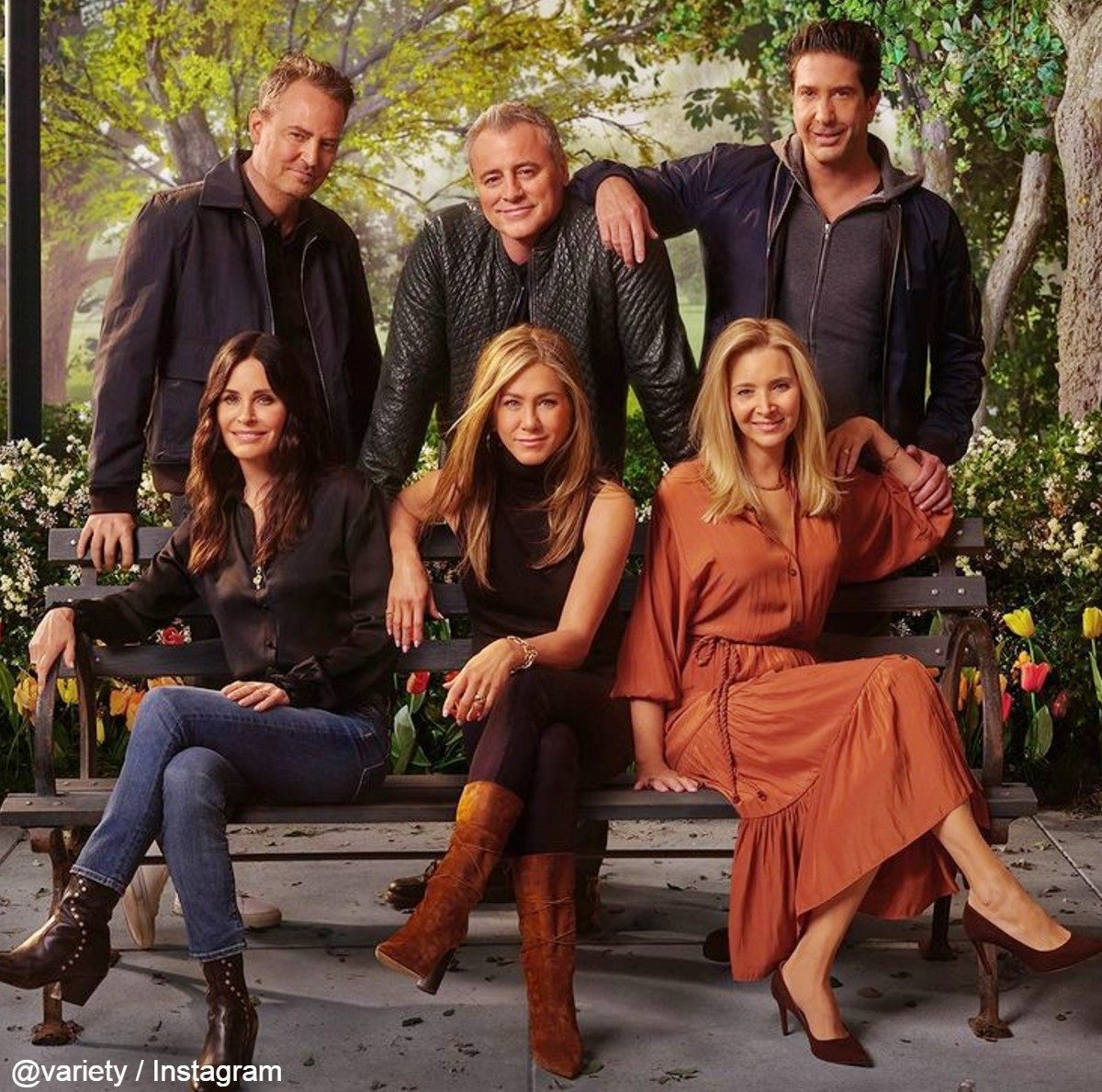 「Friends: The Reunion」公式ビジュアル